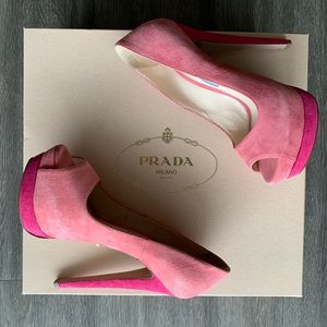 Open Toe Prada High Heel